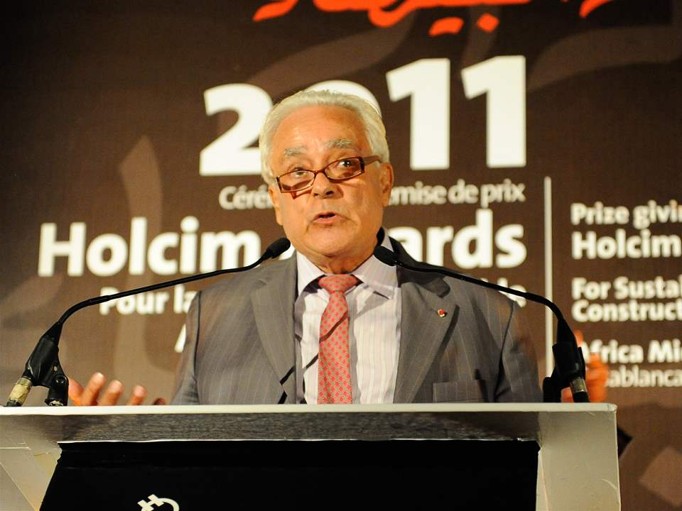 Mohamed Berrada, Counselor, Royal Institute of Education, Morocco – keynote address at the Holcim …
