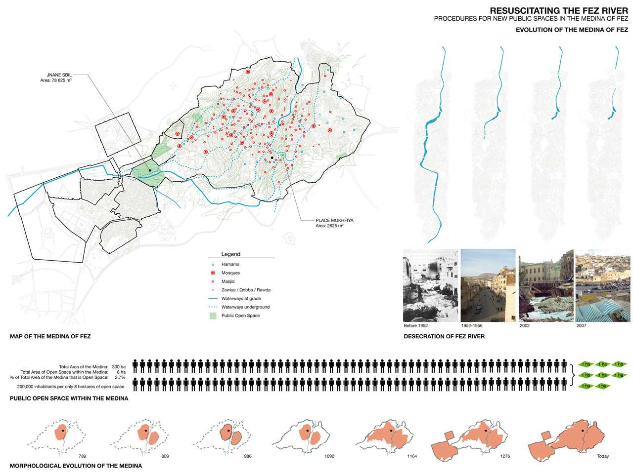"Project entry 2008 Africa Middle East - ""River remediation and urban development scheme, Fez, …"