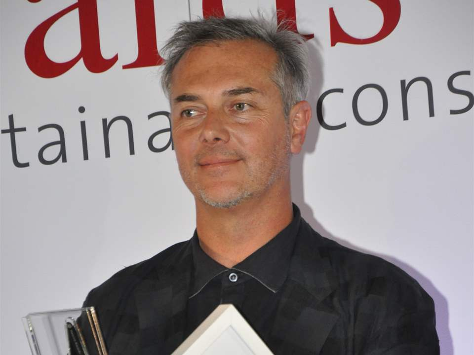 Mathias Klotz, Klotz y asociados ltda, Chile, winner of the Holcim Awards Acknowledgement prize …