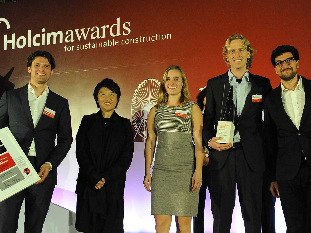 "Presentation of Holcim Awards 2011 Acknowledgement prize for ""Vertical informal settlement and …"