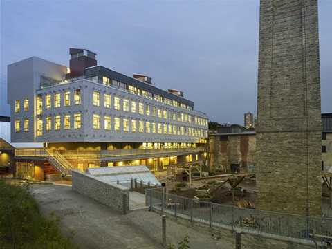 LEED Platinum accreditation to Centre for Green Cities at Evergreen Brick Works