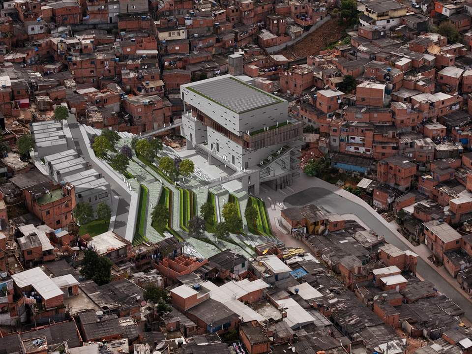 Global Holcim Awards Silver 2012: Urban remediation and civic infrastructure hub, São Paulo, Brazil