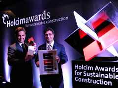 Winners of the Holcim Awards Gold 2011 Latin America for Urban remediation and civic …