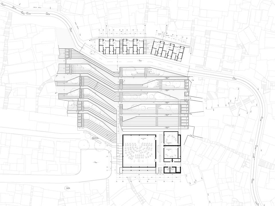 Project entry 2011 - Urban remediation and civic infrastructure hub, São Paulo, Brazil: Plan.