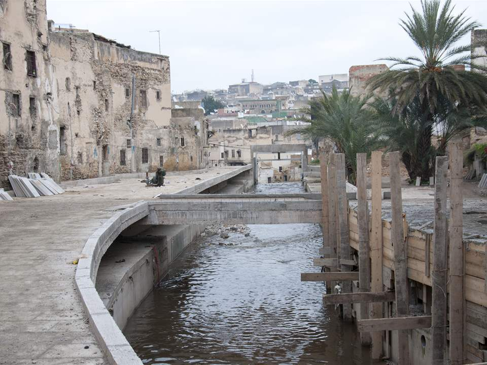 "Project update 2013 - ""River remediation and urban development scheme, Fez, Morocco"": The project …"