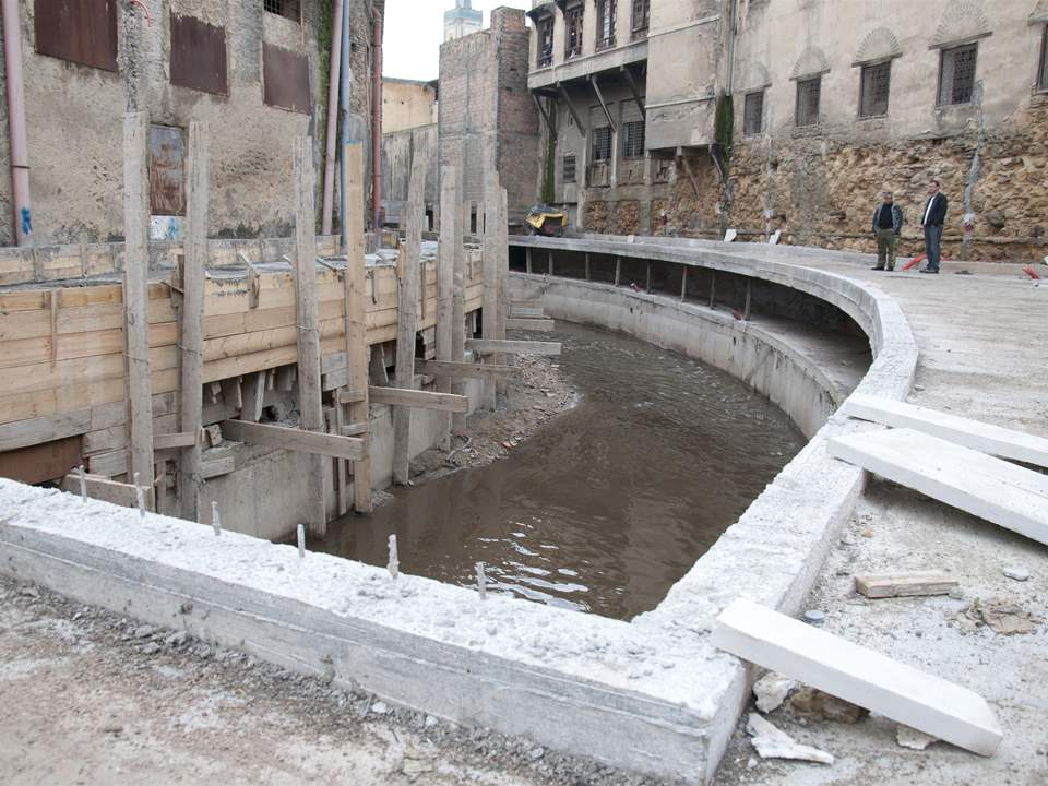 "Project update 2013 - ""River remediation and urban development scheme, Fez, Morocco"": The river …"