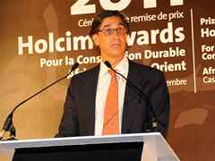 Javier de Benito, Area Manager for the Mediterranean and the Middle East, Holcim Ltd, Switzerland …