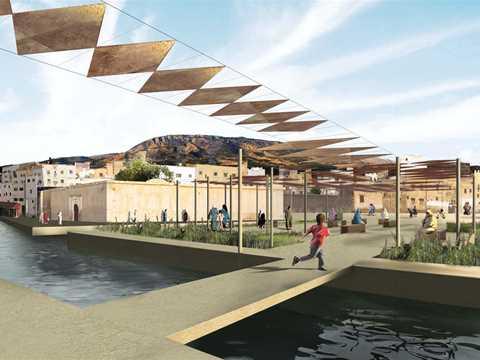 River remediation and urban development scheme