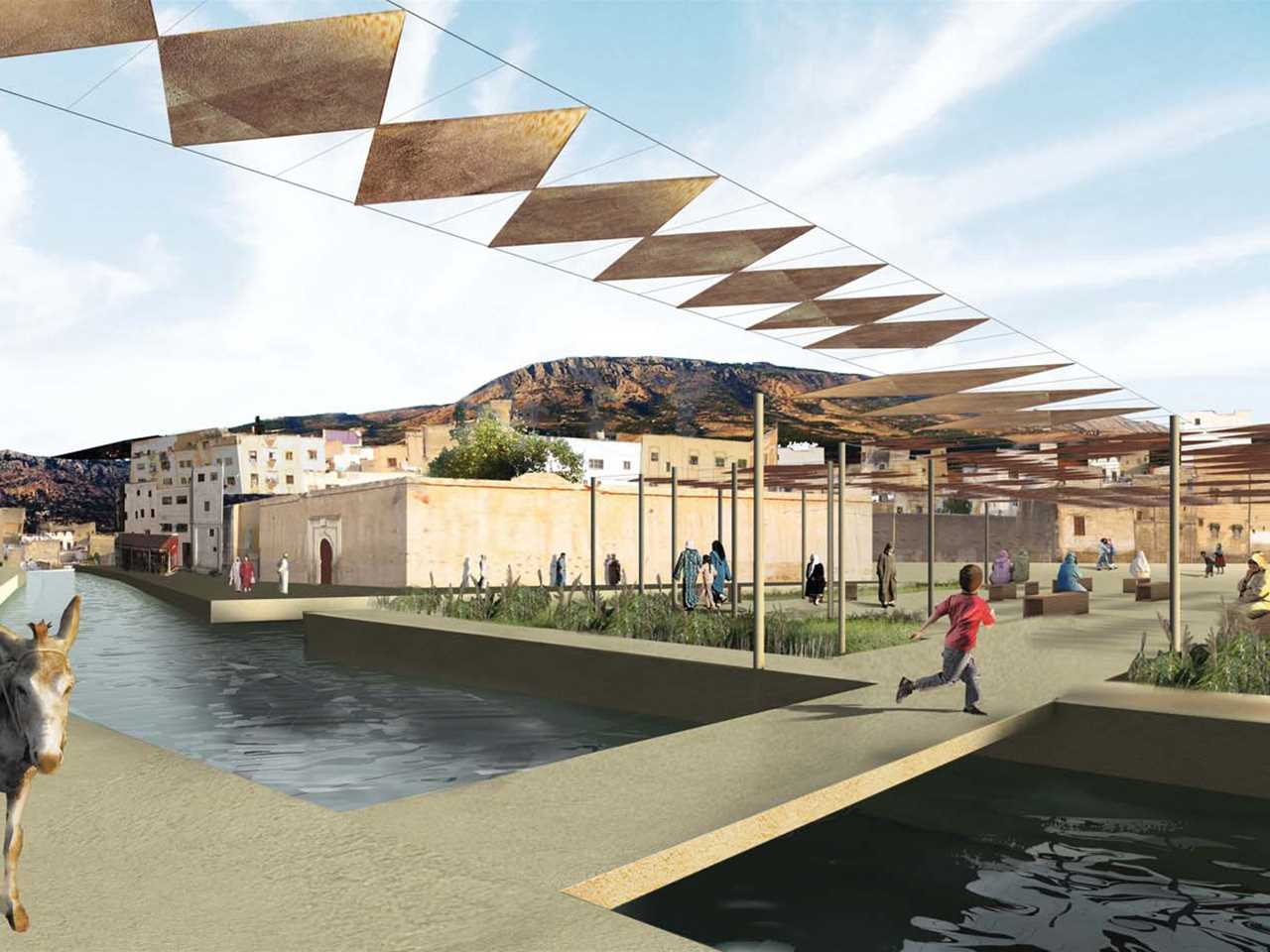 Global Finalist 2009: River remediation and urban development scheme, Fez, Morocco