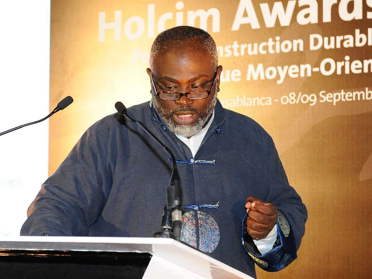 Joe Addo, Principal of Constructs LLC, Ghana/USA and member of the Holcim Awards jury for region …