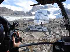 "Project update 2010 - ""Autonomous alpine shelter, Monte Rosa hut, Zermatt, Switzerland"": A bird's …"