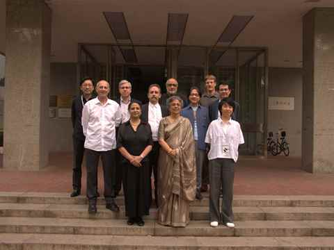 The Holcim Awards jury for region Asia Pacific met at Tsinghua University in Beijing, China in …