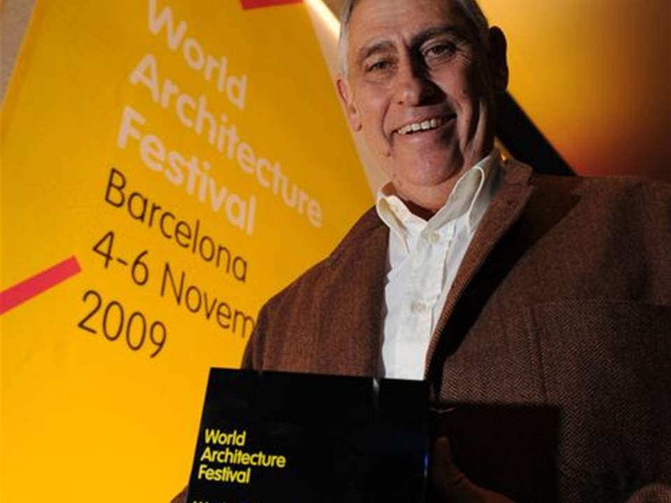 Peter Rich, the winner of the second World Building Award, has called for architects to serve a …