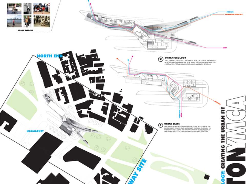 "Project entry 2008 North America - ""Responsive urban downtown activity center, Boston, USA"": …"