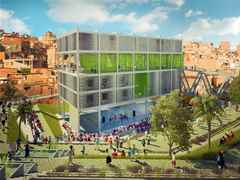 Global Holcim Awards finalist entry 2012 – Urban remediation and civic infrastructure hub, São …