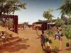 Project entry 2011 - Secondary school with passive ventilation system, Gando, Burkina Faso: …