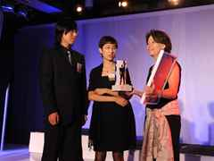 "Holcim Awards ""Next Generation"" 2nd prize 2008 North America: (l-r) Chenglong Wang, Lingchen Liu, …"