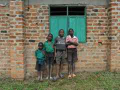 "Project update 2011 - ""Low-cost school and home for HIV orphans, Rakai, Uganda"": The 3.5ha site …"