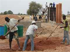Project update 2012 - Secondary school with passive ventilation system, Gando, Burkina Faso: …