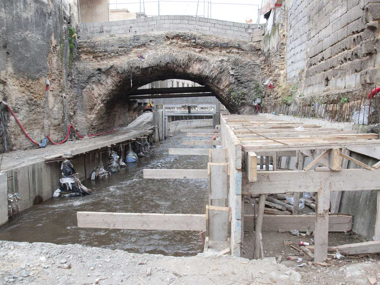 "Project update 2013 - ""River remediation and urban development scheme, Fez, Morocco"": Sewage …"