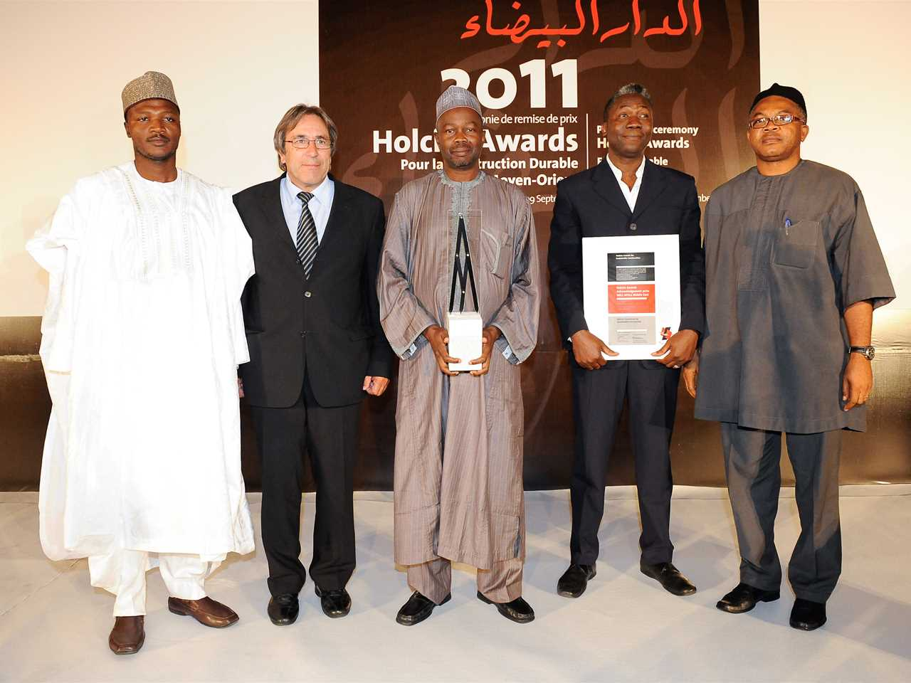 "Holcim Awards Acknowledgement prize 2011 Africa Middle East winners ""Affordable building …"