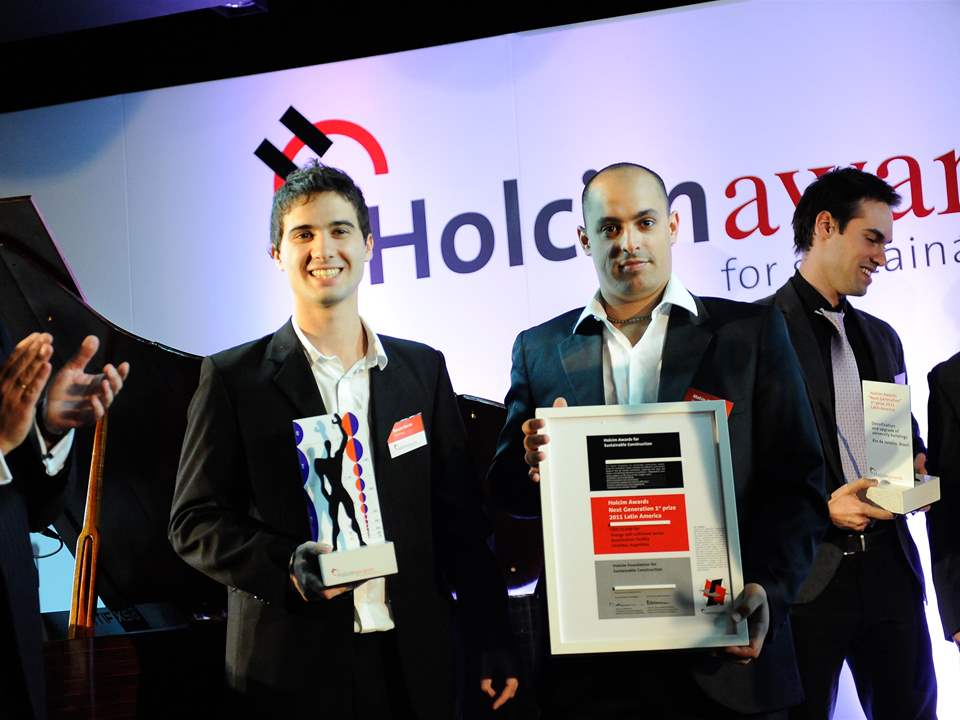 "Holcim Awards ""Next Generation"" 1st prize 2011 Latin America presentation for Energy …"