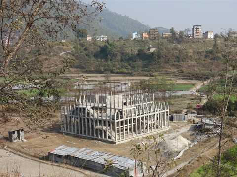 Construction of orphanage continues