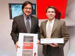 Holcim Awards Acknowledgements 2005 North America: Stephen Luoni (l) and Aaron Gabriel