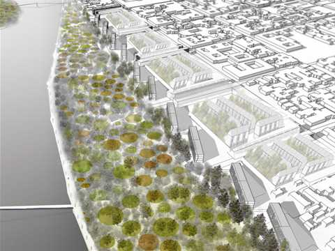 Sustainable post-tsunami reconstruction master plan
