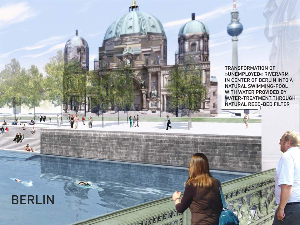 Global Holcim Awards Bronze 2012: Urban renewal and swimming-pool precinct, Berlin, Germany