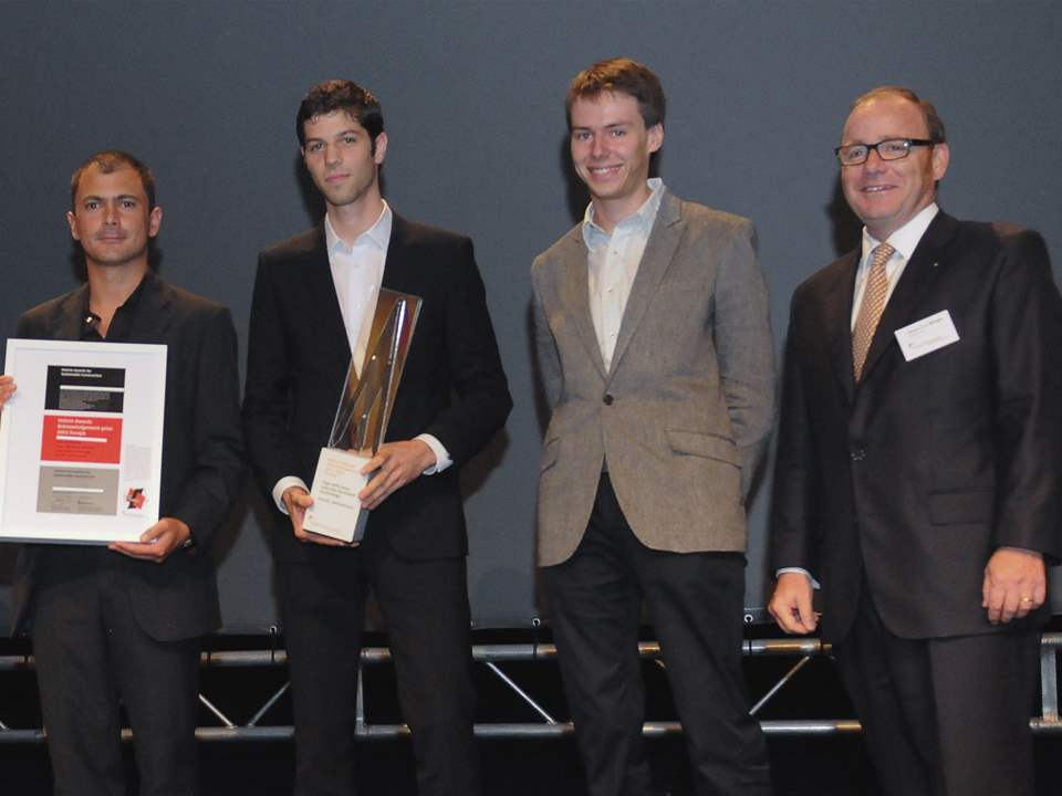 Holcim Awards ceremony 2011 Europe, Milan, Italy: Gramazio & Kohler, Architektur und Digitale …