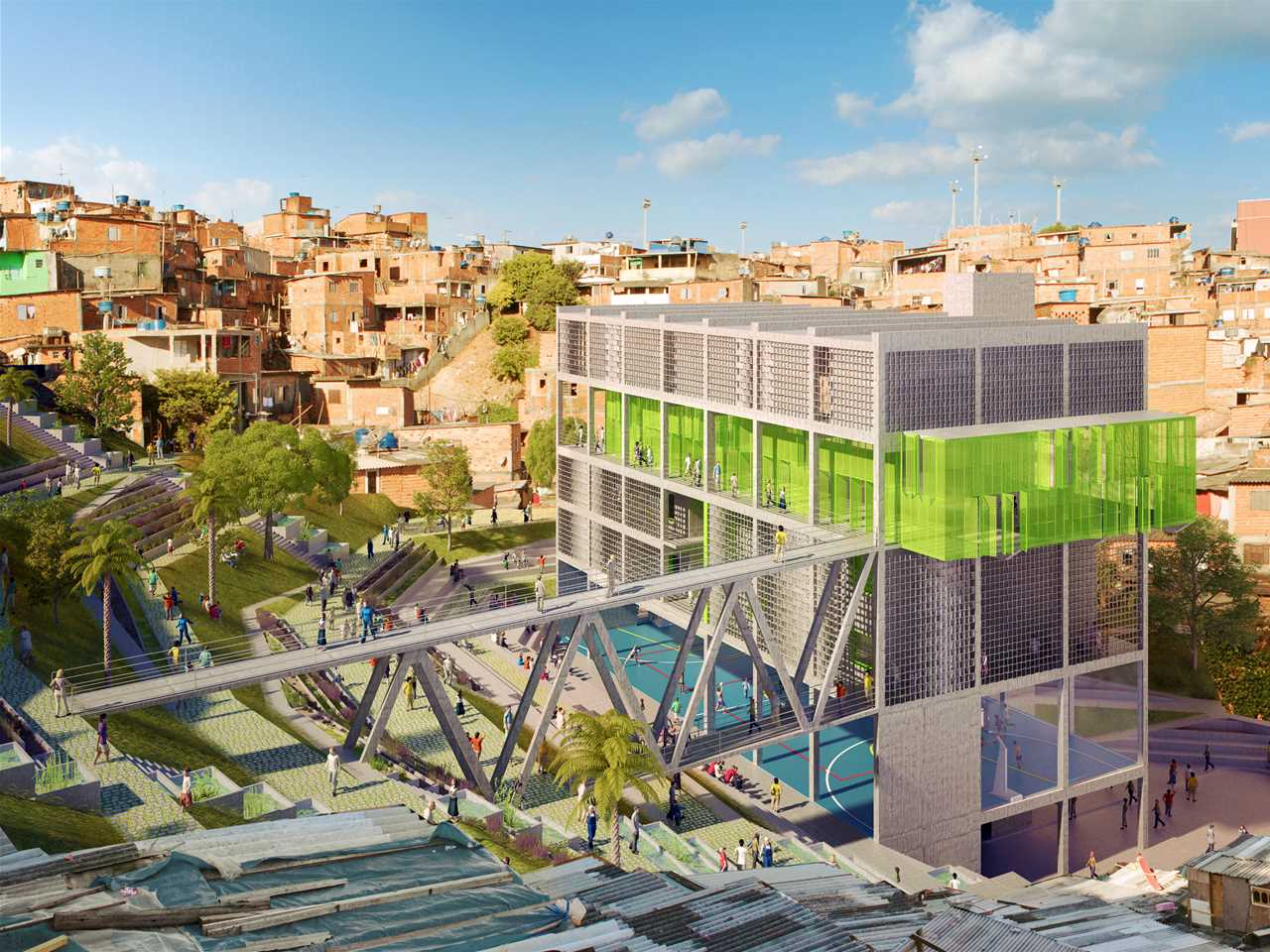 Global Holcim Awards Silver - Urban remediation and civic infrastructure hub, São Paulo Brazil