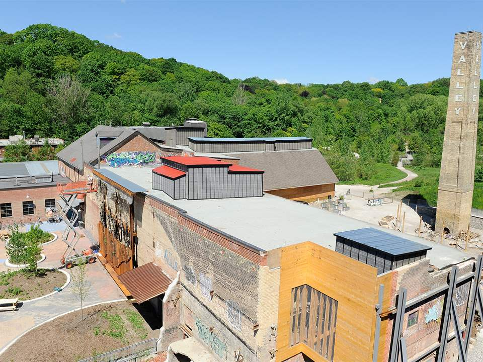 "Project update 2012 ""Evergreen Brick Works heritage site revitalization, Toronto, Canada"": The …"
