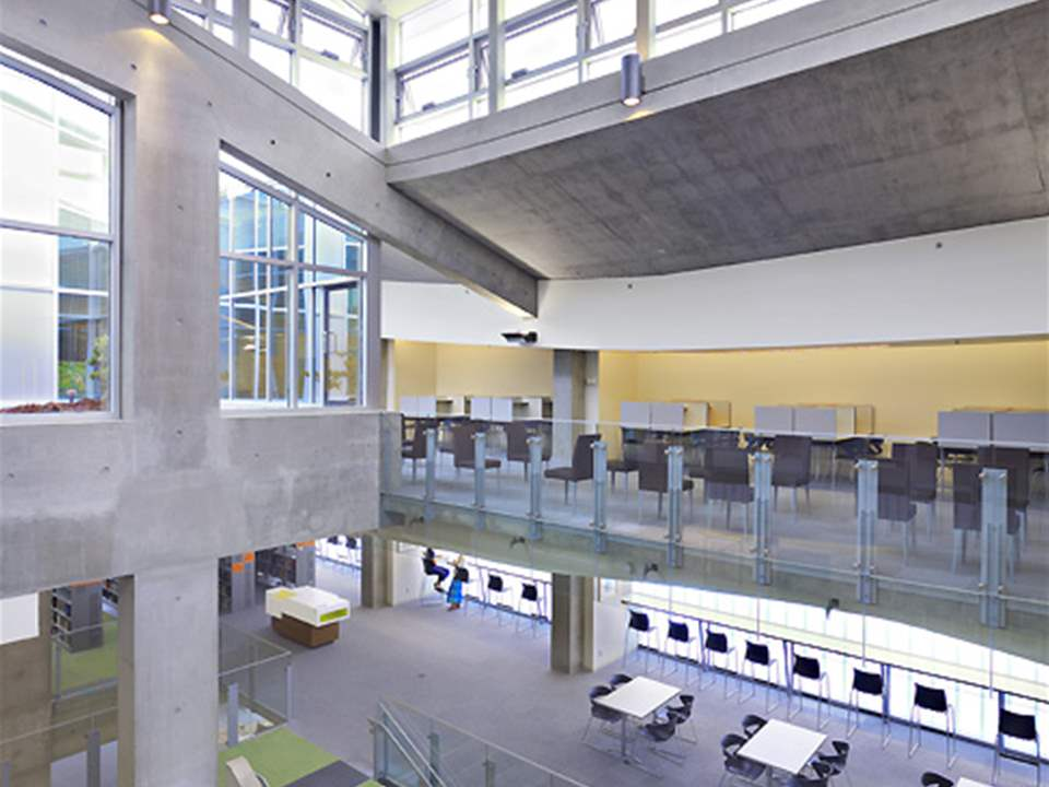 Project update 2011 - Library and Classroom Building, Langara College, Vancouver, British …
