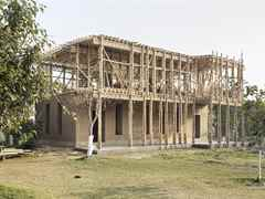 "Project update 2012 - ""Locally-manufactured cob and bamboo school building, Jar Maulwi"": The new …"