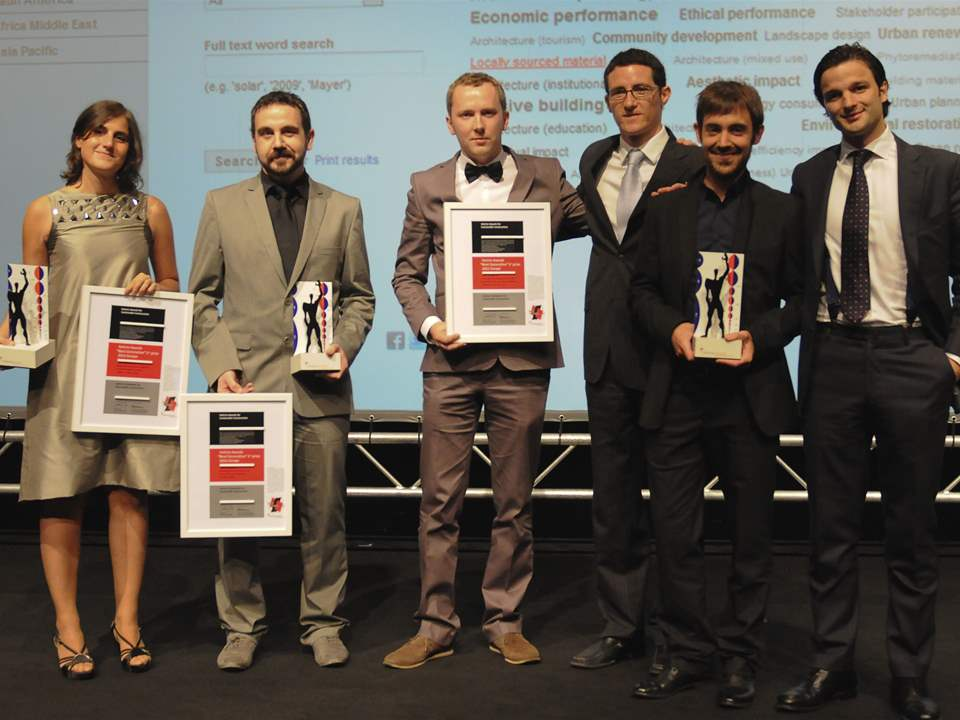 Holcim Awards 2011 Europe ceremony - September 15, 2011 - Milan, Italy: