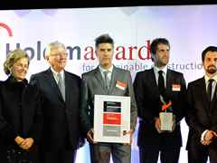 "Holcim Awards Silver 2011 Latin America for ""Sustainable post-tsunami reconstruction master …"
