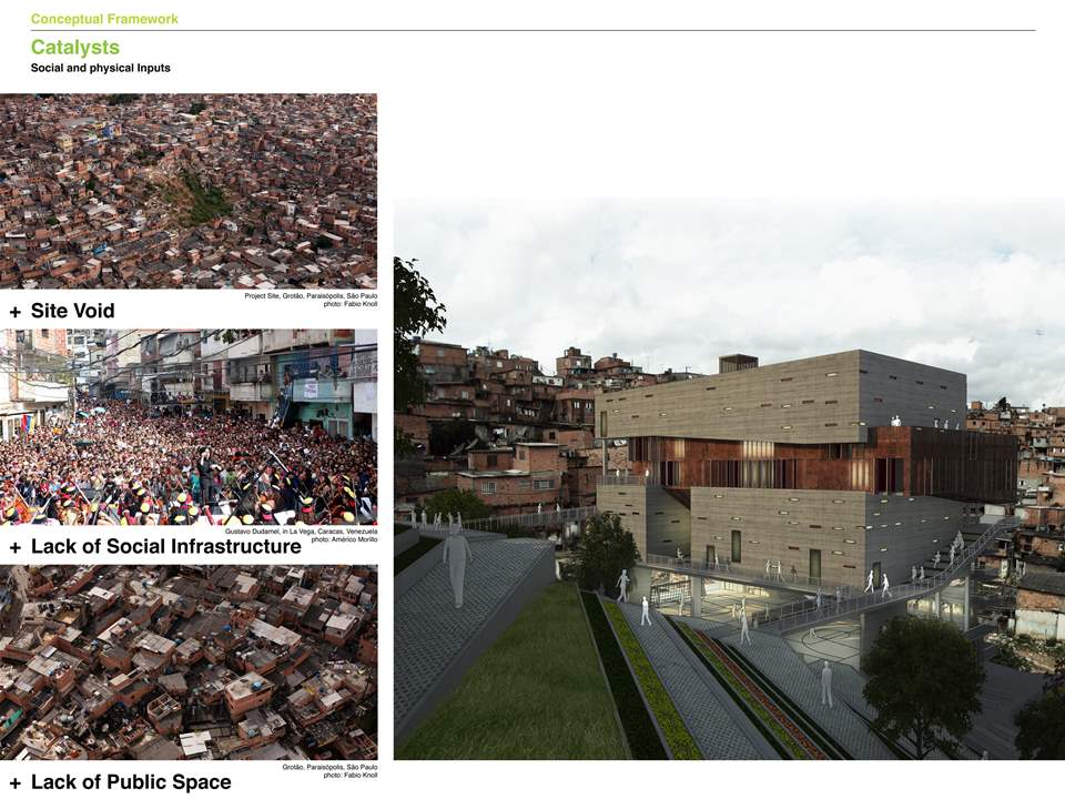 Project entry 2011 - Urban remediation and civic infrastructure hub, São Paulo, Brazil: Project …