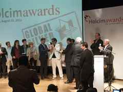 Global Holcim Awards Silver 2012 Prize Handover – Urban remediation and civic infrastructure hub, …