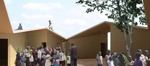 Low-cost school and home for HIV orphans