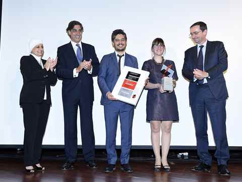 "Presentation of the Holcim Awards Gold 2014 for ""Eco-Techno Park: Green building showcase and …"
