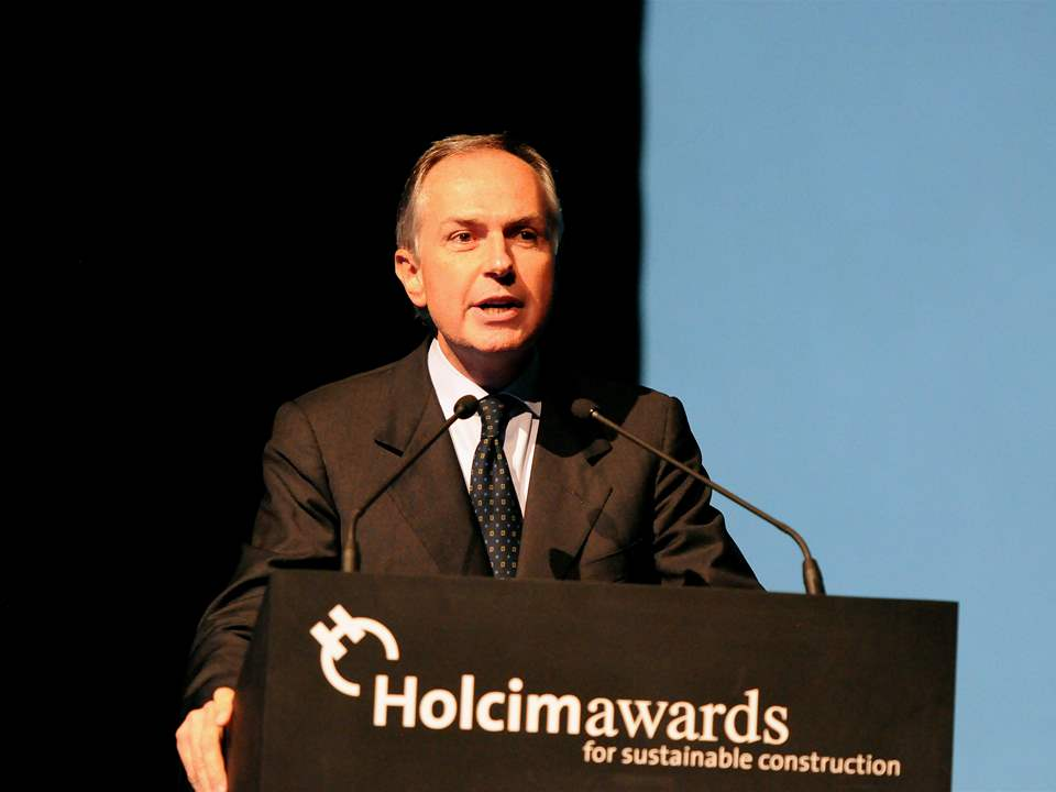Pietro Guindani, Chairman of the Board, Vodafone Italy – keynote address at the Holcim Awards …