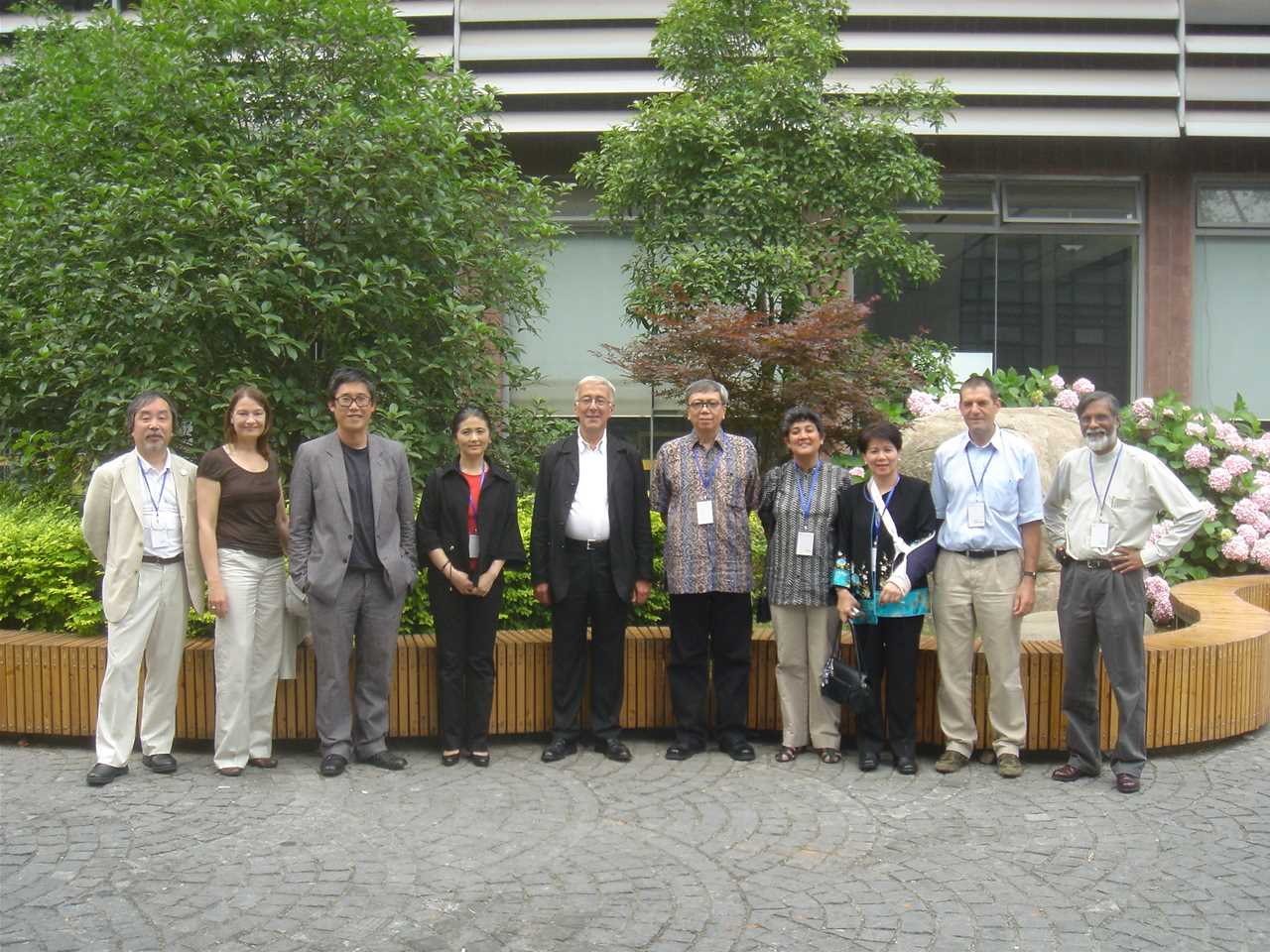 The Holcim Awards jury for region Asia Pacific met in Shanghai, China in June 2008 to select …
