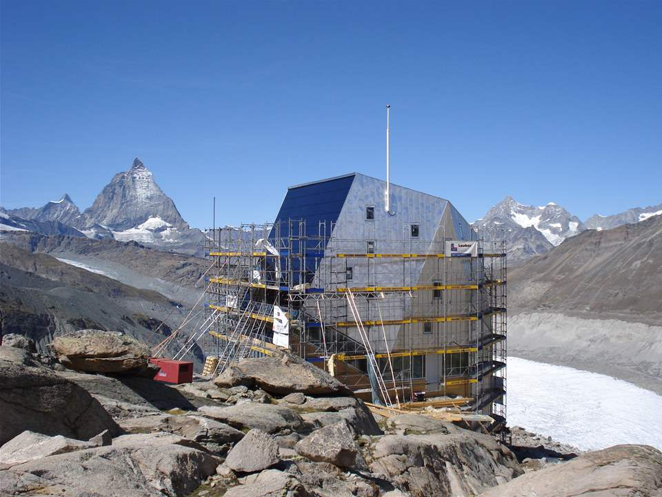 "Project update 2010 - ""Autonomous alpine shelter, Monte Rosa hut, Zermatt, Switzerland"": With its …"