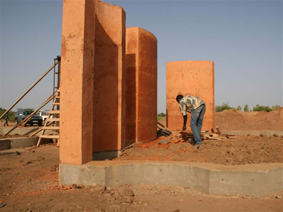 Project update 2012 - Secondary school with passive ventilation system, Gando, Burkina Faso: The …