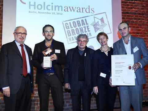 Berlin Flussbad project wins global award for sustainable construction