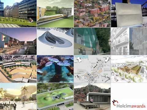 Global Holcim Awards finalists 2006