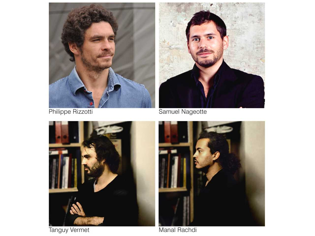 Winners of the Holcim Awards Bronze 2011 Europe (l-r, top): Philippe Rizzotti, Philippe Rizzotti …