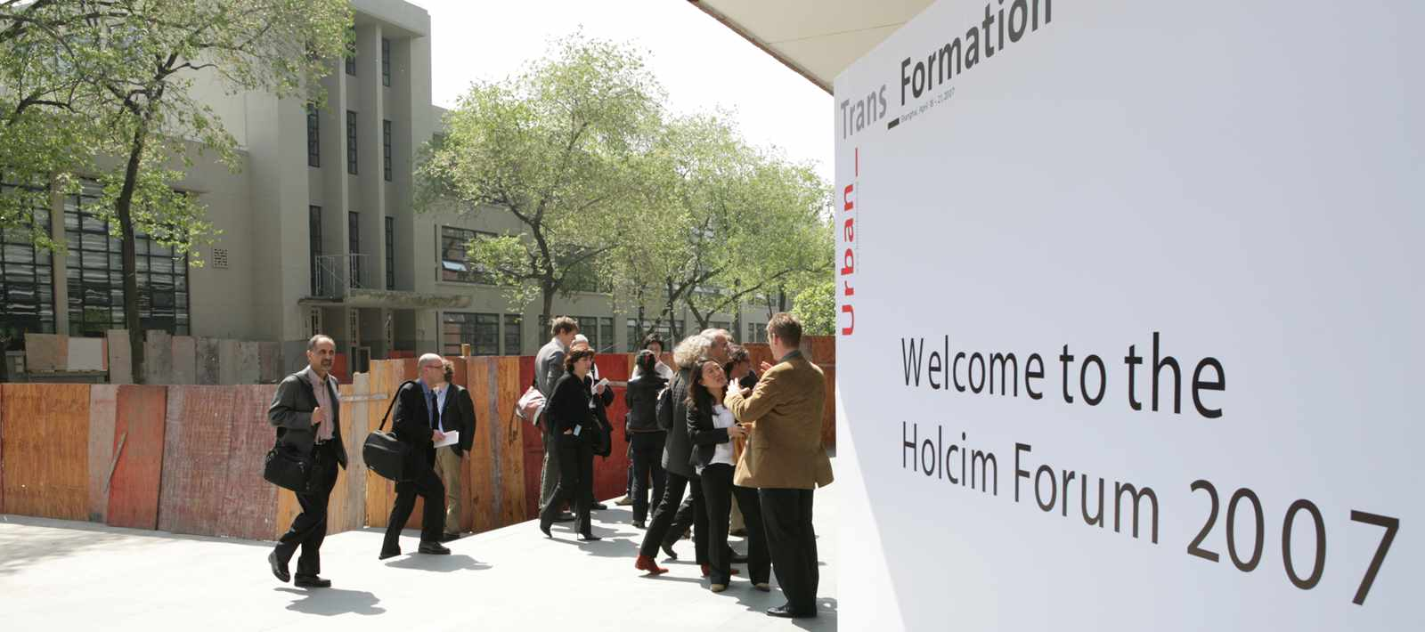 """Tongji University was host of the 2nd International Holcim Forum """"Urban_Trans_Formation"""" in 2007."""