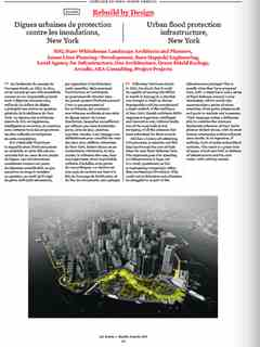 """""""Rebuild by Design"""" in 'A'A' presents Selected Projects / Morceaux Choisis – Holcim Awards 2014"""